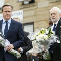 Cameron calls for 'end to hatred in politics' as Britain mourns murdered MP