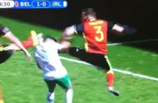 Belgium are three up and cruising thanks to Ireland's second-half implosion