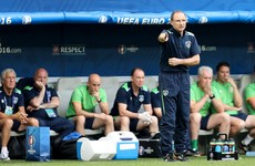 O'Neill: Ireland players' failure to keep the ball was due to nerves