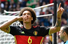 Belgian tiki-taka? Rode Duivels break record with Witsel goal