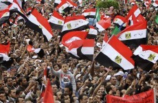 Tens of thousands join anti-military protest in Egypt