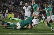 Ireland concede 29 second-half points as South Africa win second Test