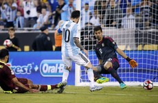 Messi equals record as Argentina turn on the style to book semi-final spot