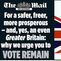 Calling it: The British papers have come out on Brexit, and they're pretty divided
