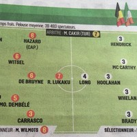 French newspaper L'Equipe didn't hold back with their player ratings for Ireland v Belgium