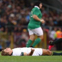 Springbok out-half Lambie won't return in time for decisive third Test against Ireland