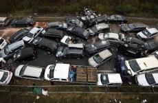 Three killed in 52 vehicle pile-up on German autobahn