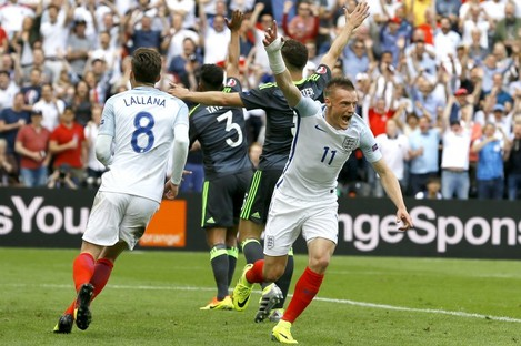 Jamie Vardy could potentially do the Irish team a favour tomorrow.