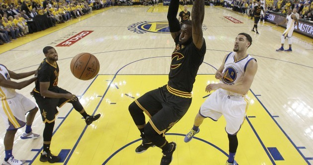 James and Cavaliers win thrilling NBA Finals Game 7, 93-89
