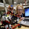 This 11-year-old girl from Dublin built a robot that can solve a Rubik's cube