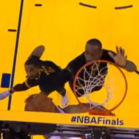 LeBron's devastating block in the final minutes paved the way for his crowning moment