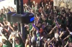 Irish fans lost it when 'Shane Long's on Fire' came on in a Bordeaux nightclub
