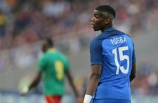 Paul Pogba in talks with Real Madrid and two other clubs over €120 million transfer
