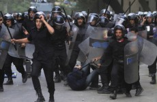 Scores injured as Egyptian police clash with protesters in Cairo