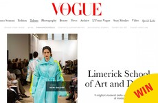 This Limerick college has been featured in Italian Vogue and it looks class