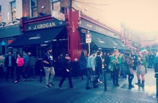 Grogans is just the best pub in Dublin to people watch with a pint