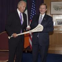 Enda Kenny receives US Vice President Joe Biden in Dublin