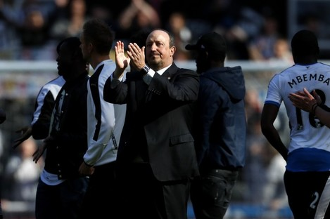 Rafa Benitez has decided to stay on at St James' Park.