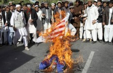 Afghan students protest US security pact negotiations