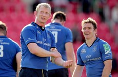 Cullen pays tribute to 'immense', 'brilliant athlete' Reddan ahead of final bow