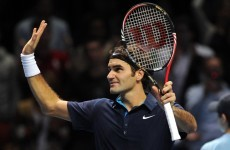 Federer kicks off the ATP Tour Finals with victory over Tsonga