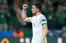 """I honestly can't believe this is happening"" - Robbie Brady's mum is one emotional lady today"
