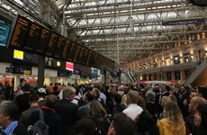 Heavy rain in London causes rail chaos - and could stop some people from voting