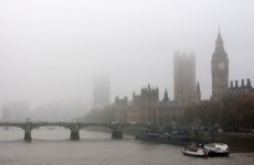 Dozens of flights grounded as heavy fog shrouds London