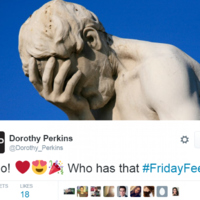 The responses to this Dorothy Perkins tweet sum up how everyone is feeling today