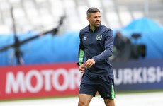 Jon Walters trained today and could be in contention to play against France