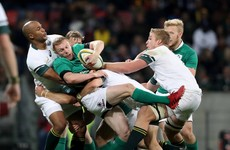 Schmidt's Ireland come up short as Springboks claim series victory