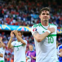 Despair for Northern Ireland as they exit Euro 2016 after heart-breaking own goal