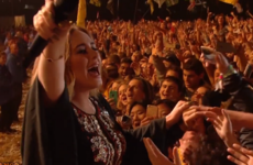 Listen to a 150,000-strong Glastonbury crowd sing Someone Like You with Adele