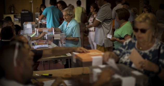 Spanish voters go back to the polls for second election in six months