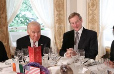 Joe Biden heads back to the US after lunch with Enda Kenny