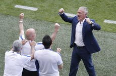 'It was hard for us too, but mission accomplished,' says Deschamps