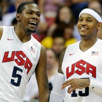 Durant and Anthony the experienced heads in US Olympic basketball squad