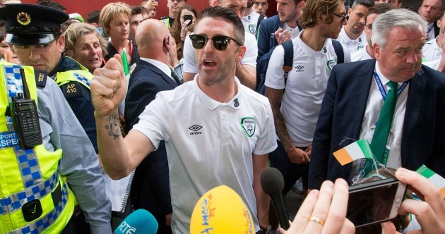 Back on home soil! Ireland touch down in Dublin after memorable Euro 2016 journey