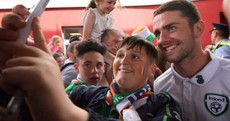 Photos: Boys in Green arrive home to a hero's welcome