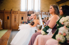 This mam went viral after she stopped her own wedding to breastfeed her daughter