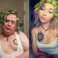 This dad has been parodying his daughter's selfie poses with excellent results