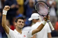 Djokovic makes it 30 Grand Slam wins in row as Federer ends Willis' Wimbledon fairytale