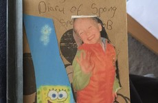 A lad from Mayo found his childhood diary dedicated to Spongebob, and it's brilliant