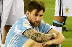 'Messi is telling us to stop busting his balls' - Maradona