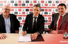 Claude Puel is the new manager of Southampton