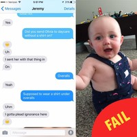 This Dad's baby clothes fail is delighting everyone on Facebook
