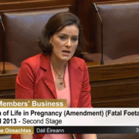'The pain and suffering is etched in my memory': TD takes emotional stand during fatal foetal abnormalities debate