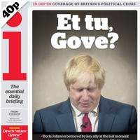 My boy Boris carried Gove, and now he's been stabbed in the back, says Stanley Johnson