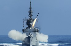 A Taiwanese warship accidentally fired a missile towards China