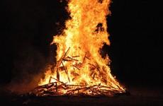 Man who drove car into bonfire and attacked 3 gardaí gets partially suspended sentence